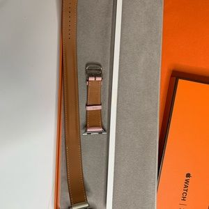 Hermes Accessories - Auth Hermes Double Tour Apple Watch Band 38/40mm